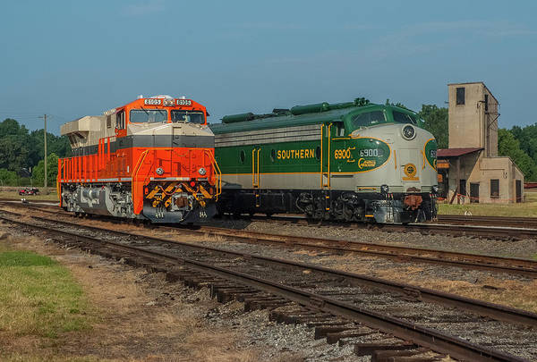 Photograph - Interstate Railroad And Southern E Unit by Matthew Irvin