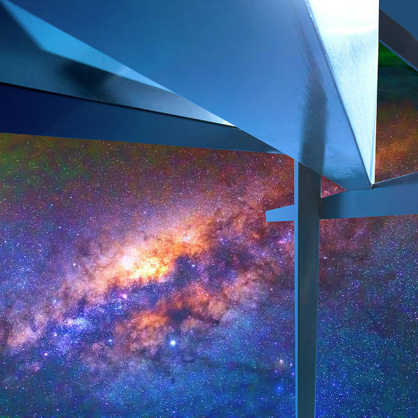 Wall Art - Photograph - Interstellar Fantasy Rise Of Abstraction by William Dey