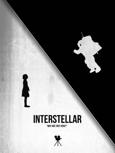 Wall Art - Digital Art - Interstellar by Naxart Studio
