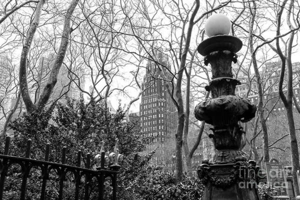 Wall Art - Photograph - Into Bryant Park New York City by John Rizzuto