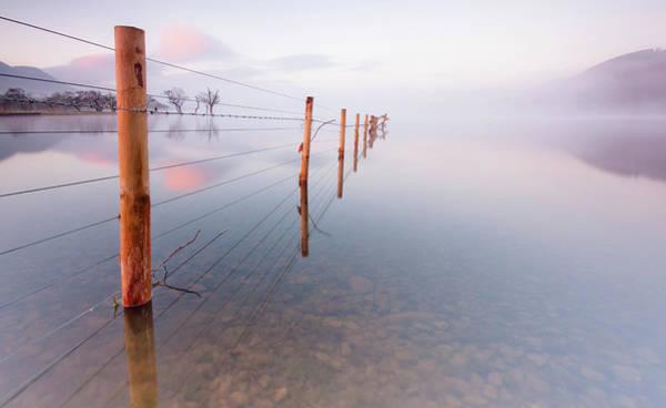 Ullswater Photograph - Into Infinity by Anita Nicholson