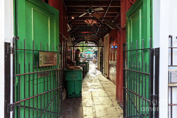 Wall Art - Photograph - Into Pat O'briens New Orleans by John Rizzuto