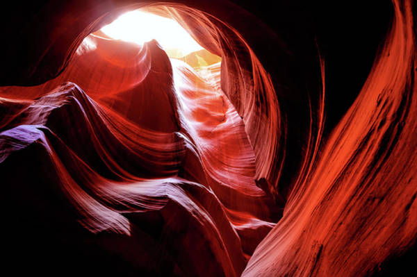 Photograph - Into The Light - Antelope Canyon Arizona by Gregory Ballos