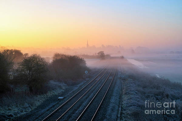 Wall Art - Photograph - Into The Morning Mist by Tim Gainey