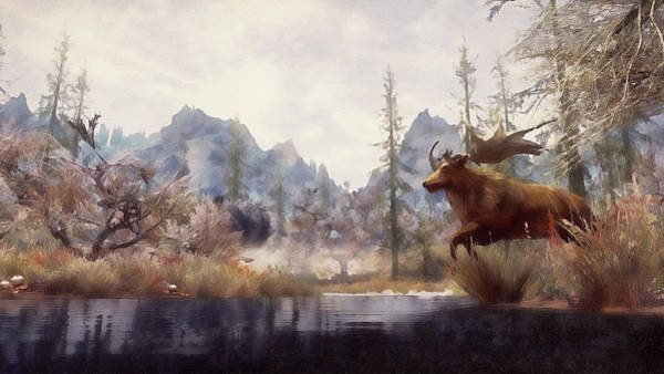 Painting - Into The Wild - 01 by Andrea Mazzocchetti