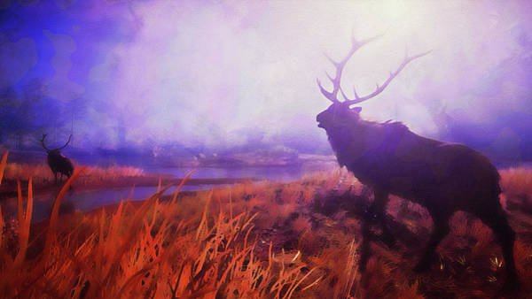Painting - Into The Wild - 06 by Andrea Mazzocchetti