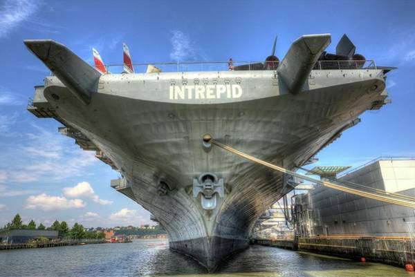Wall Art - Photograph - The Intrepid Sea Air And Space Museum by Geraldine Scull