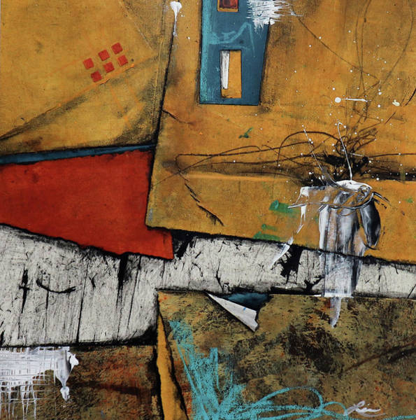 Wall Art - Mixed Media - Introspective Purpose by Laura Lein-Svencner