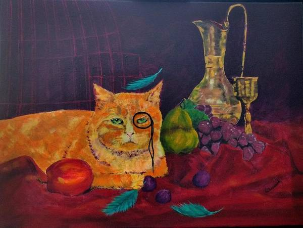 Painting - Intruder by Lorraine Germaine