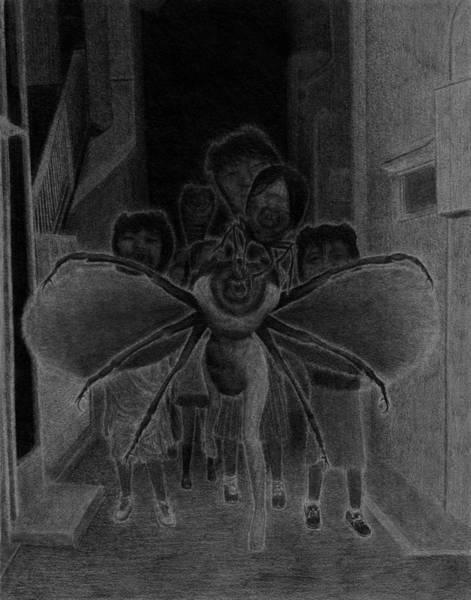 Drawing - Invasion - Artwork by Ryan Nieves