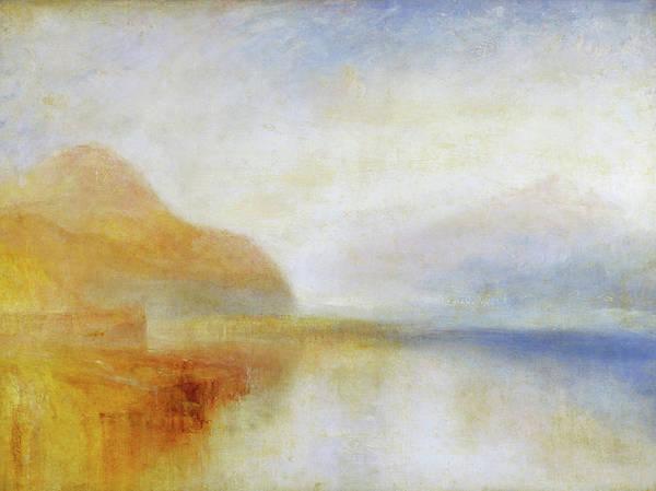 Wall Art - Painting - Inverary Pier, Loch Fyne, Morning -  by William Turner