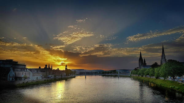 Photograph - Inverness Sunset by Joe MacRae