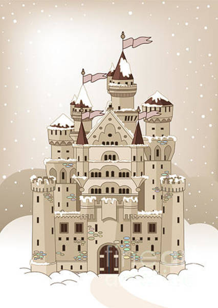 Wall Art - Digital Art - Invitation Card With Magic Fairy Tale by Pushkin