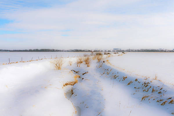Photograph - Iowa Winter Wonder Land by Edward Peterson