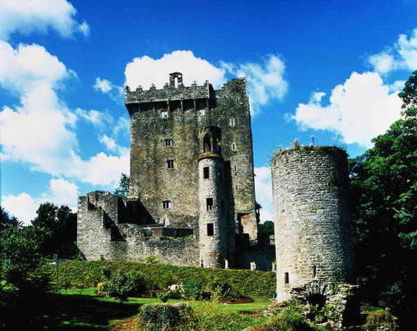 Castle Garden Photograph - Ireland,county Cork,blarney Castle by Oliver Benn