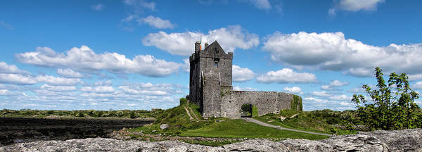 Wall Art - Photograph - Ireland's Dunquaire Castle - Pano by Phyllis Taylor