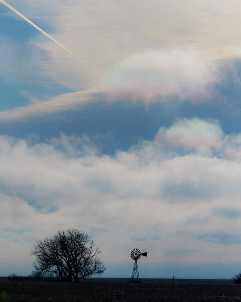 Photograph - Iridescent Clouds 03 by Rob Graham