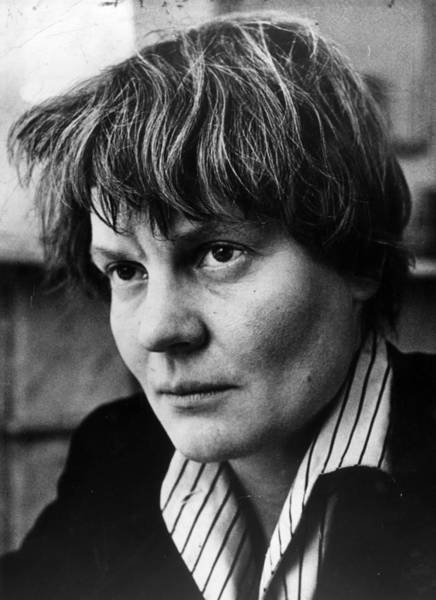 Scriptwriter Photograph - Iris Murdoch by Evening Standard