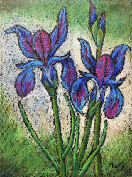 Painting - Irises In Bloom by Karla Beatty