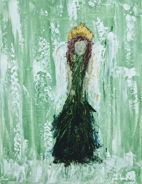 Painting - Irish Angel  by Jennifer Nease