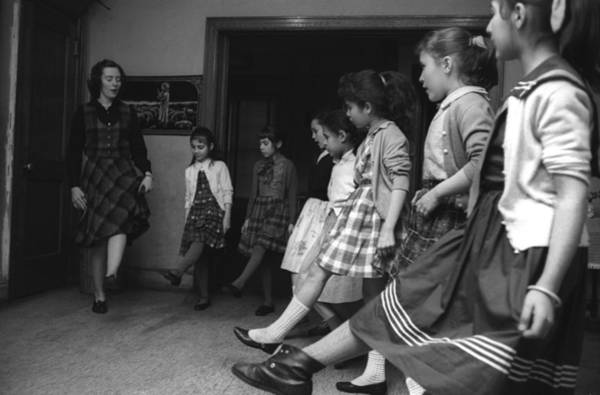East Side Photograph - Irish Dance Lesson by I C Rapoport