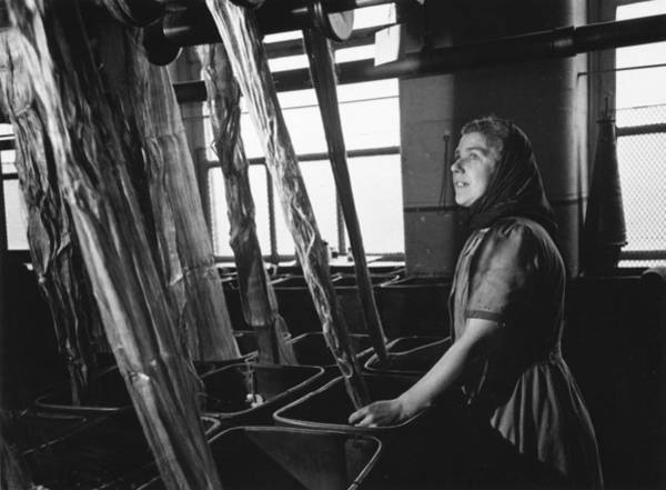 Reportage Photograph - Irish Linen by Merlyn Severn