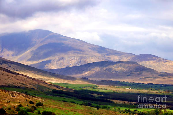 Wall Art - Photograph - Irish Mountain Landscape by Olivier Le Queinec