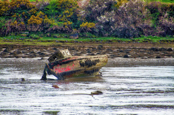 Wall Art - Photograph - Irish Shipwreck - Clew Bay County Mayo by Bill Cannon