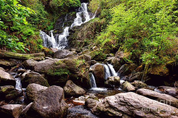 Wall Art - Photograph - Irish Waterfall by Olivier Le Queinec