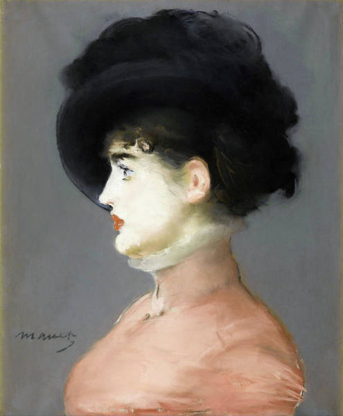 Wall Art - Painting - Irma Brunner - Digital Remastered Edition by Edouard Manet