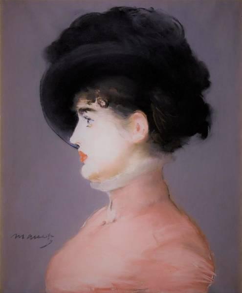 Wall Art - Painting - Irma Brunner - Original Purplecolor Edition by Edouard Manet