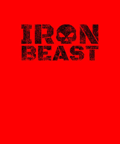 Powerlifting Digital Art - Iron Beast by Chuck Basford
