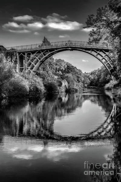Wall Art - Photograph - Iron Bridge Shropshire  by Adrian Evans