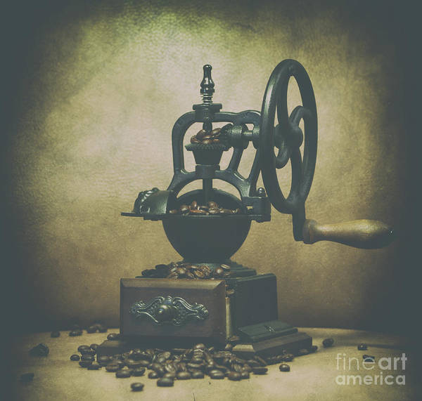 Photograph - Iron Coffee Grinder by Dale Powell