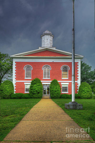 Wall Art - Photograph - Iron County Courthouse  by Larry Braun
