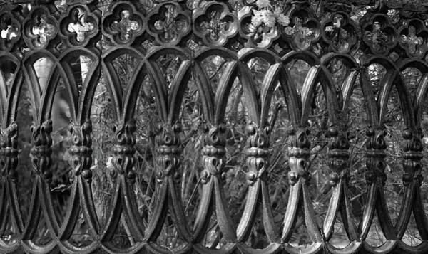 Photograph - Iron Fence Pattern by Cynthia Guinn