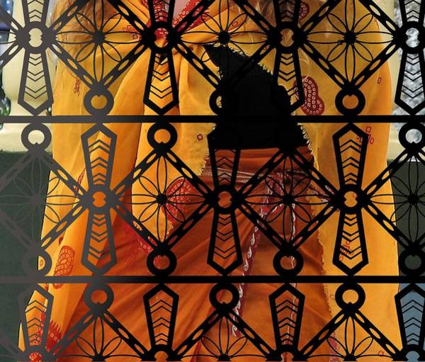 Photograph - Iron Lattice Pattern Fiji Temple by Joan Stratton