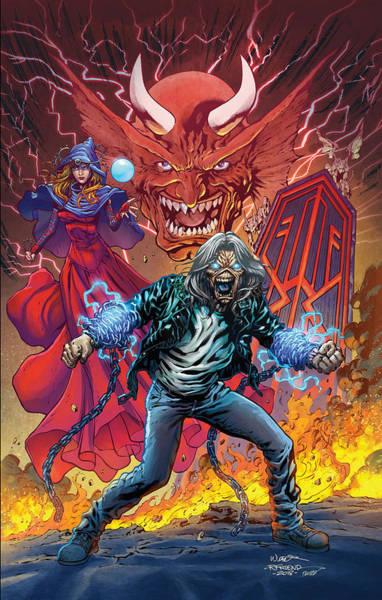 Wall Art - Digital Art - Iron Maiden Legacy Of The Beast by Geek N Rock