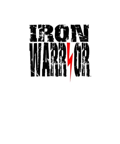 Powerlifting Digital Art - Iron Warrior by Chuck Basford