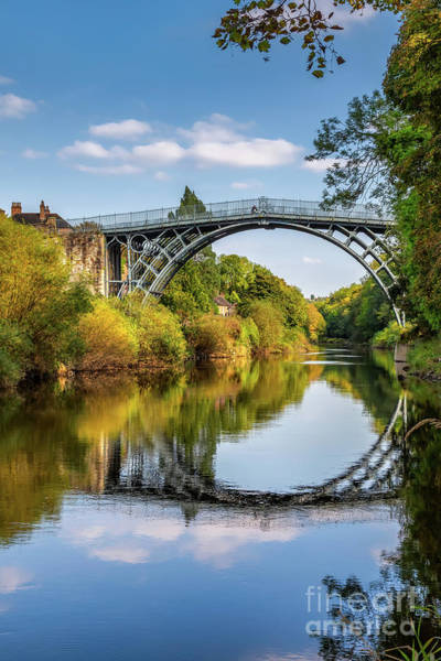 Wall Art - Photograph - Ironbridge Shropshire  by Adrian Evans