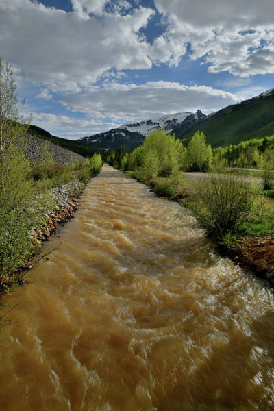 Photograph - Ironton Creek Along Highway 550 by Ray Mathis