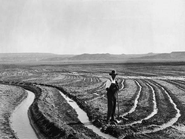 Farm Photograph - Irrigation Ditches by Keystone