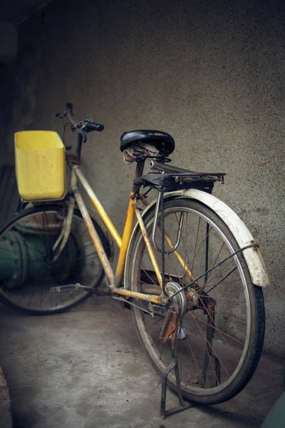Yellow Photograph - Is That A Yellow Bike by @xiaoping