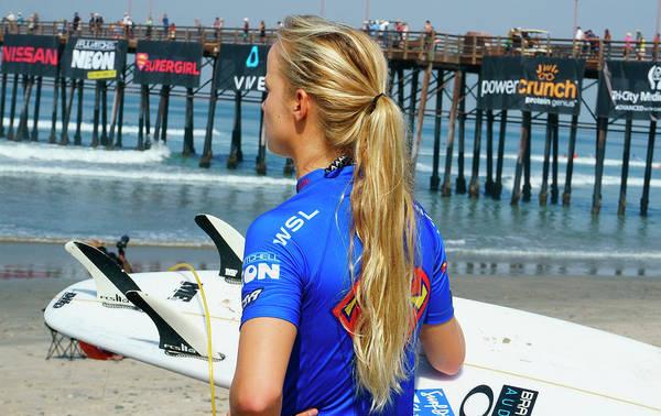 Photograph - Isabella Nichols Surfer by Waterdancer