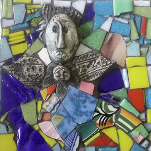 Wall Art - Mixed Media - Ishtar by ILona Halderman