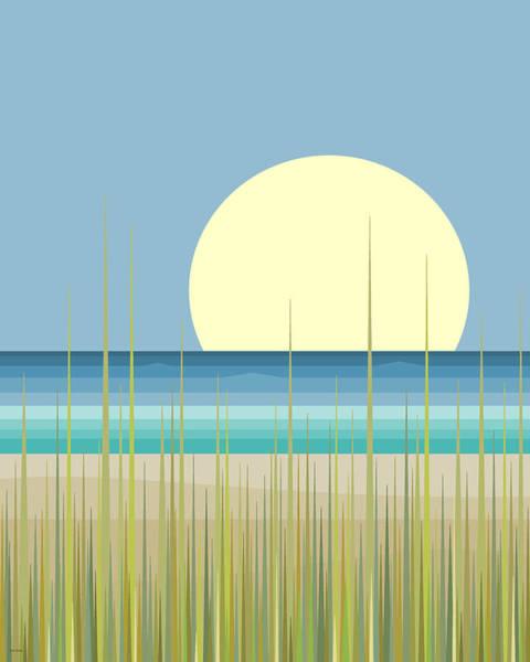 Big Island Digital Art - Island Beach by Val Arie