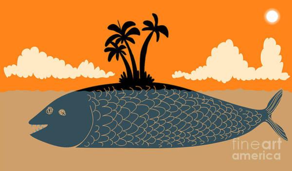 Wall Art - Digital Art - Island Fish by Complot