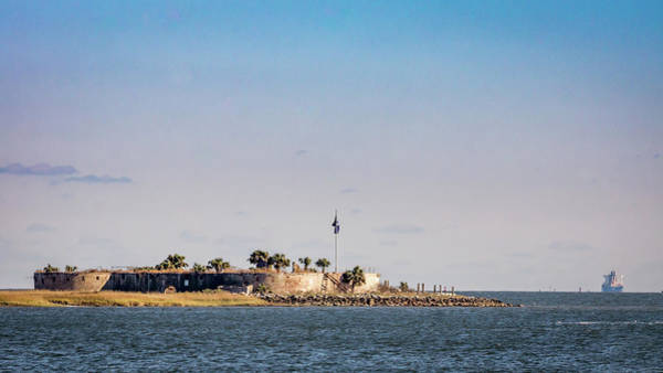Photograph - Island Fort by Framing Places