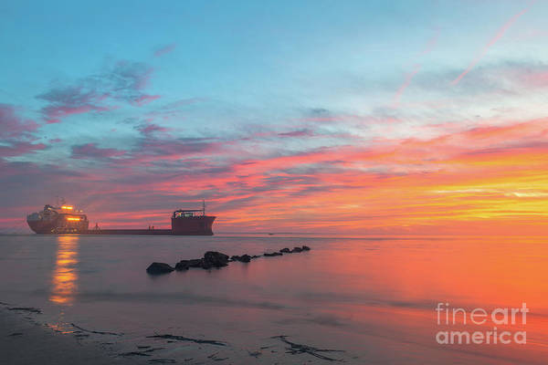 Photograph - Island Life - Southern Beach Sunset by Dale Powell
