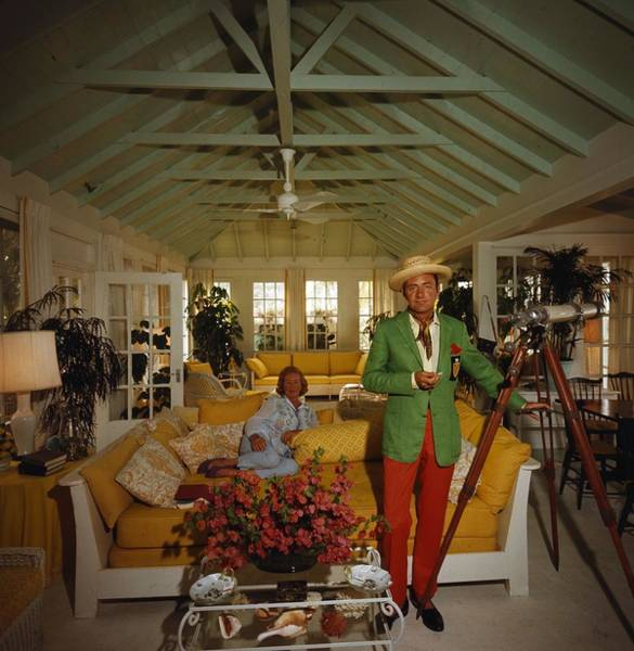 Relationship Photograph - Island Lookout by Slim Aarons